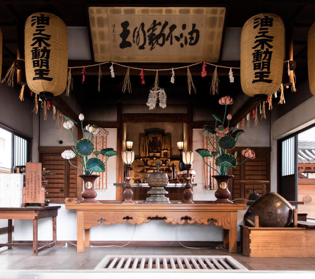護摩堂の写真